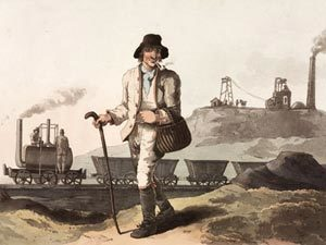 The Collier, by Robert Havell (aquatint, 1814): Wikimedia Commons, public domain