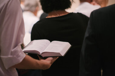 Singing psalms, hymns and spiritual songs